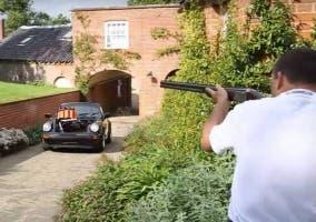 Tiro al plato Porsche 911