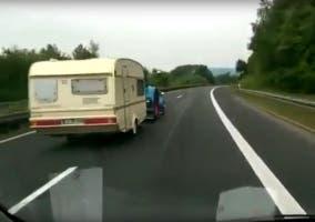 Tractor y caravana