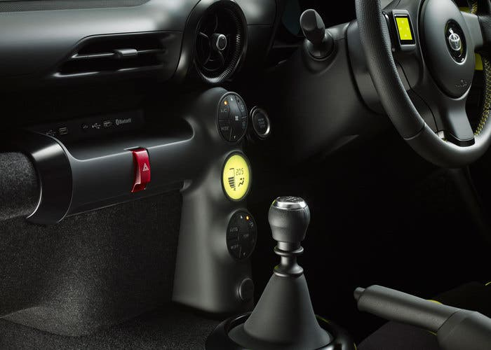 Toyota S-FR Concept (interior - región media)