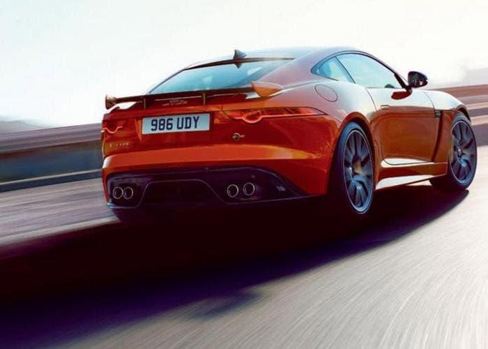 Jaguar F-Type SVR back