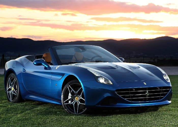 Ferrari turbo descapotable