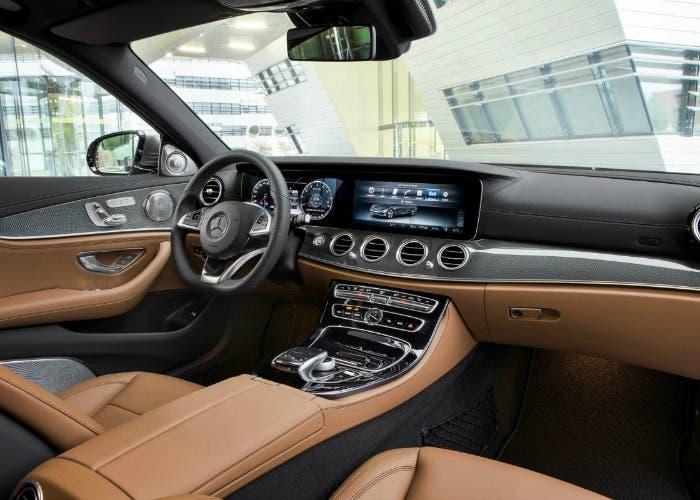 Interior del Mercedes Clase E W213