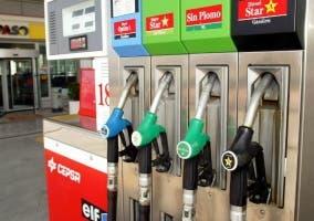 Gasolina de 95 y gasolina de 98