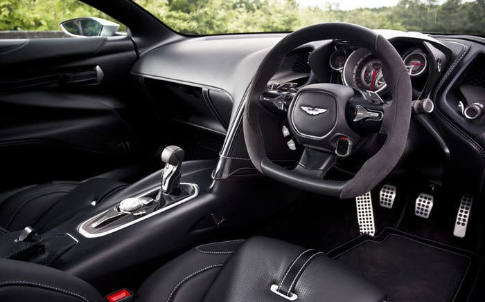 Aston Martin DB10 interior