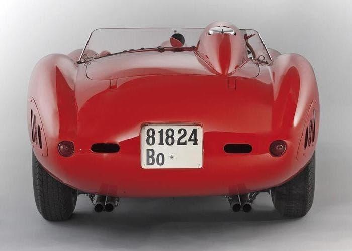Ferrari 335 Sport Scaglietti back