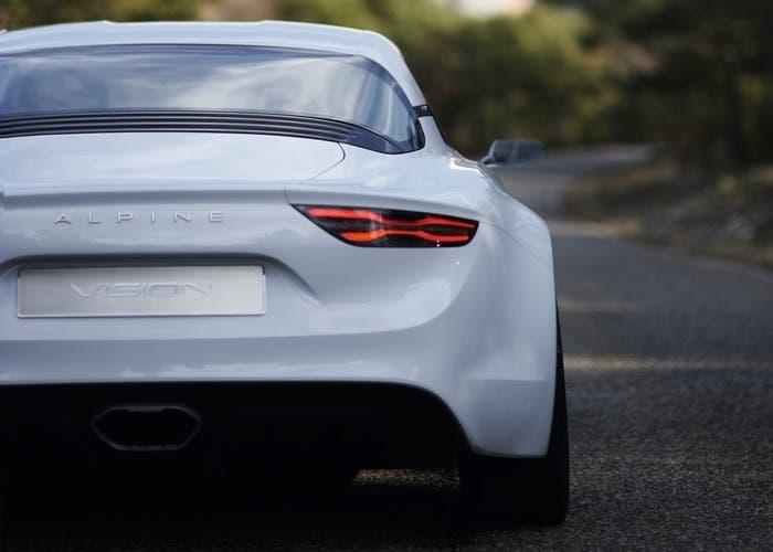 Renault Alpine Vision Concept back