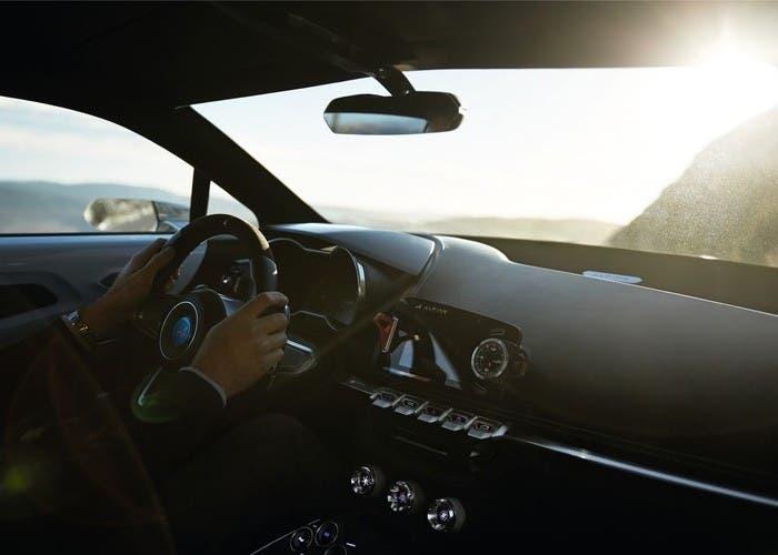 Renault Alpine Vision Concept interior
