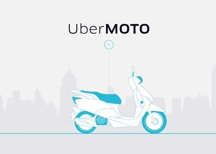 Uber Moto publicidad