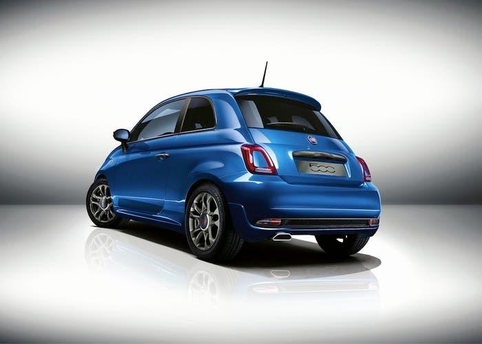 Fiat 500S BACK