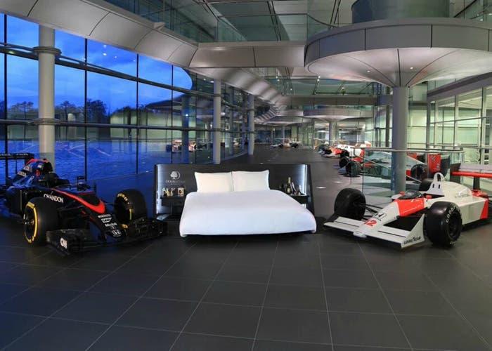 McLaren cama