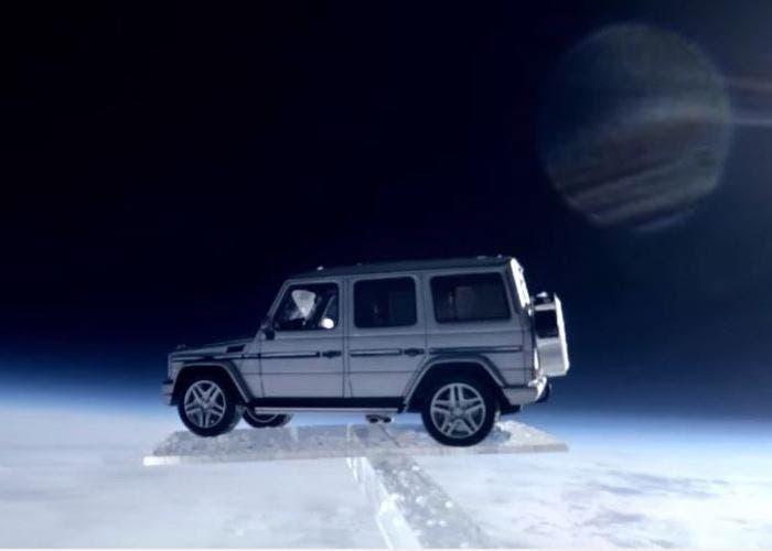 Mercedes Clase G espacio