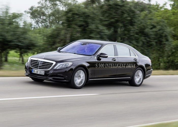 Mercedes S500 Intelligence drive