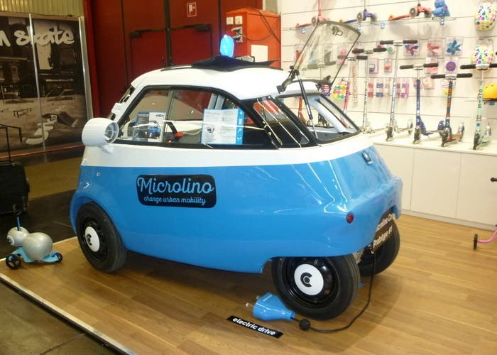 Microlino rear