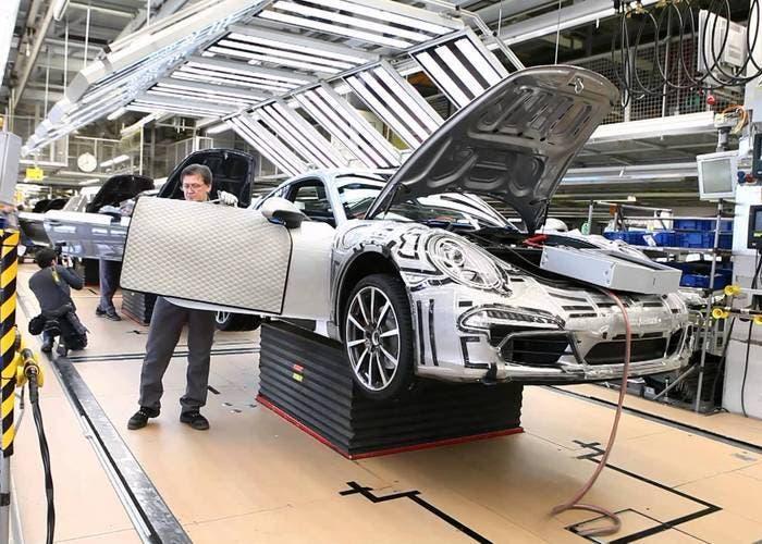 Porsche 911 producción