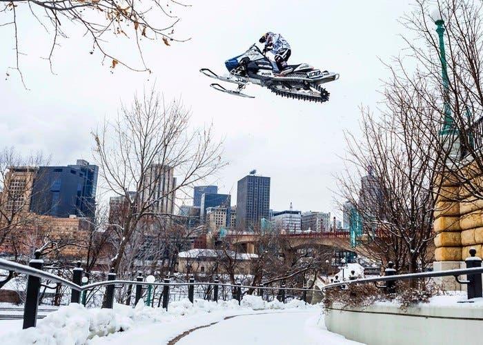 Urban Snowmobiling