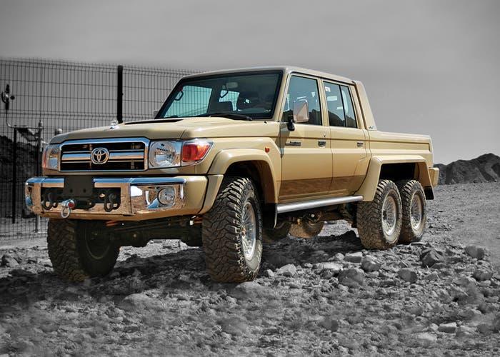 6x6 Toyota Land Cruiser NSV