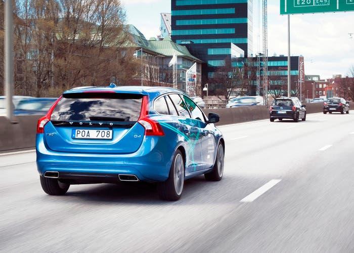 Coche autónomo Volvo
