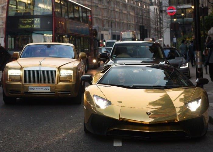 Rolls-Royce y Lamborghini