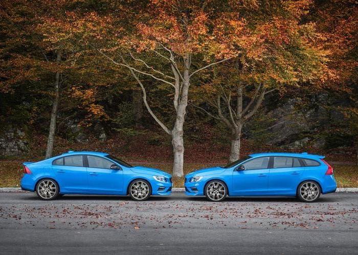 Volvo V60 y S60 Polestar frente a frente