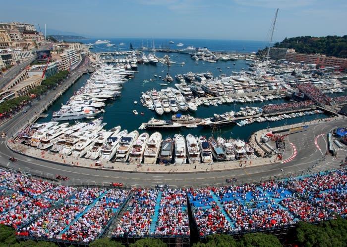 GP Monaco gradas yates
