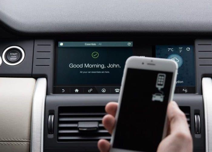 Land Rover Aplicación