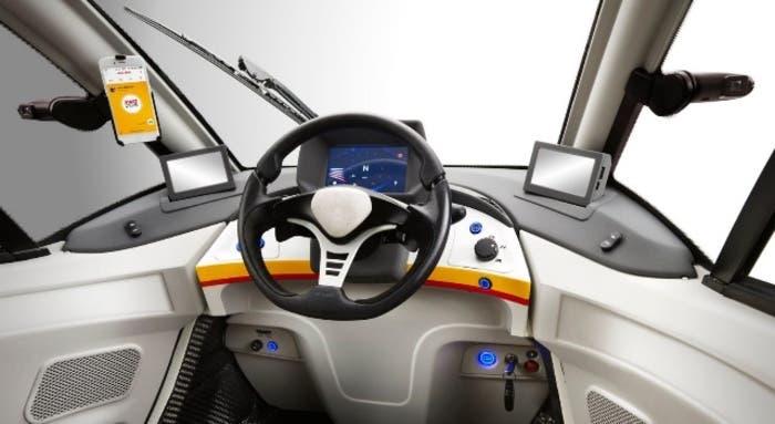 Shell T25 Interior