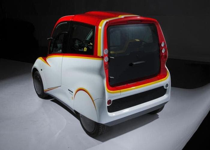 Shell T25 rear