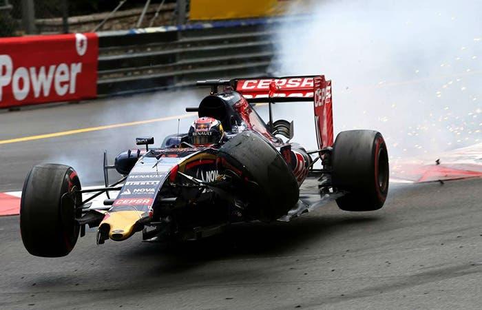 Verstappen accidente gp monaco