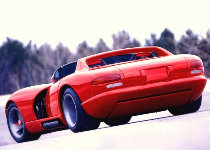 Dodge Viper RT/10 Concept car 1989