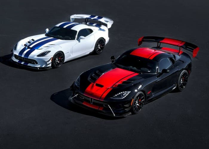 Dodge Viper 1:28 edition y Dodge Viper GTS-R Commemorative Edition
