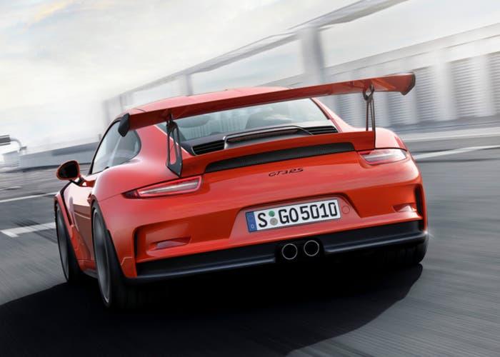 Porsche 911 GT3 back