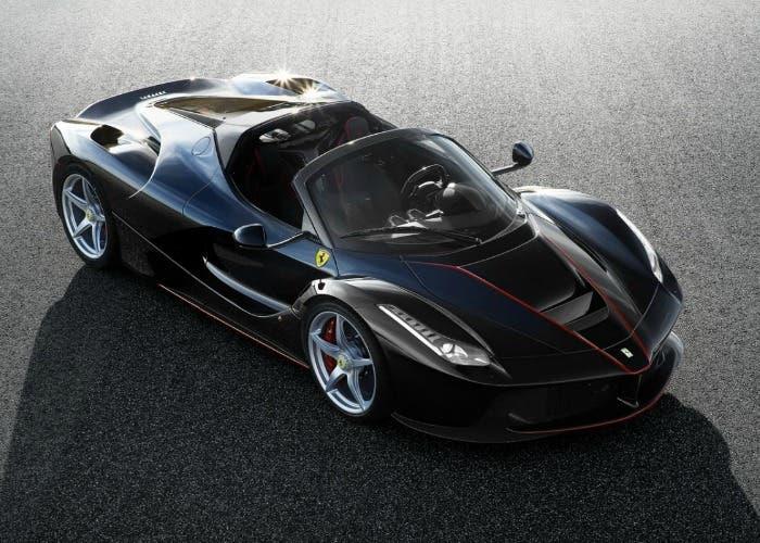 Primeras fotos oficiales del Ferrari LaFerrari Aperta
