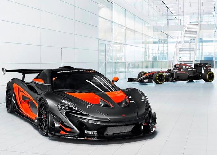 McLaren p1 GTR F1