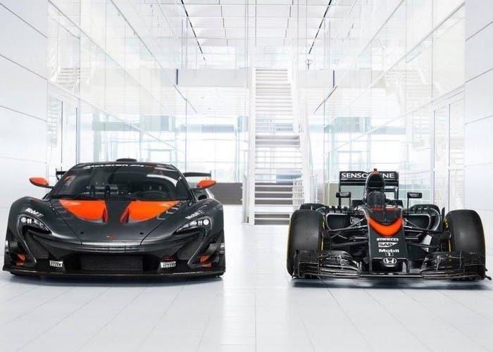 McLaren p1 GTR F1 front