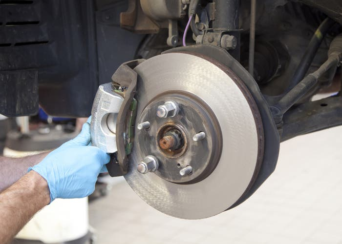 Vehicle Brake Caliper Service
