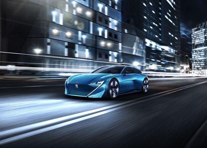 Peugeot Instinct Concept front