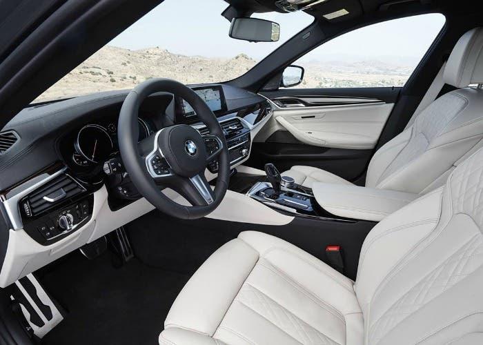 Interior del BMW Serie 5 G30