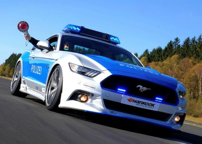 ford-mustang-policia-alemana
