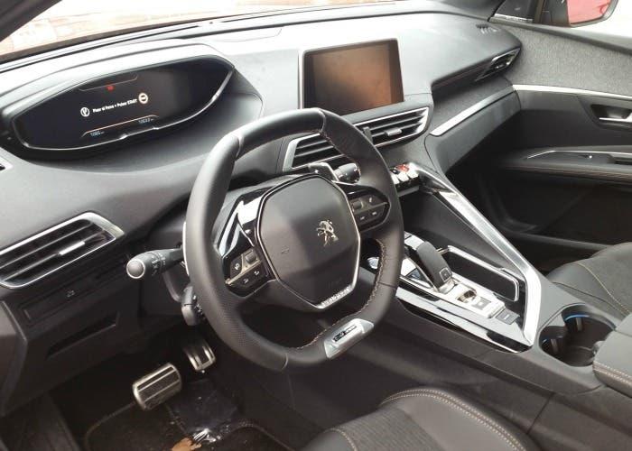 Interior del Peugeot 3008 GT Line