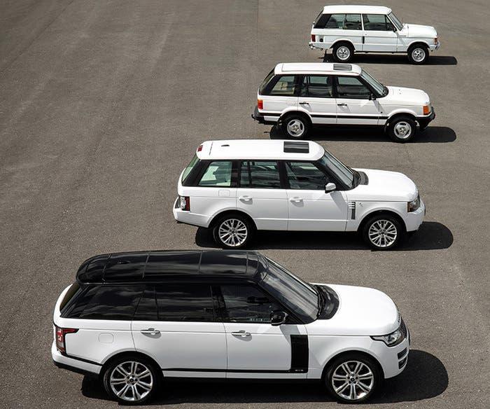 historia Range Rover