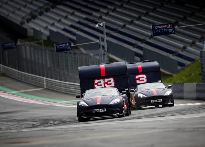 Aston Martin y caravanas