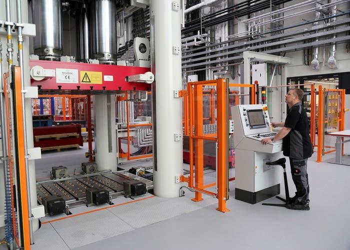 Robotizacion en industria