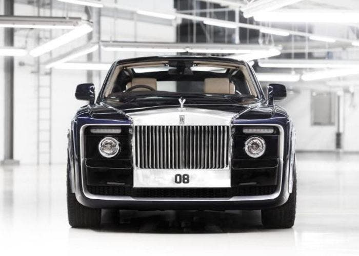 Rolls-Royce Sweptail frontal