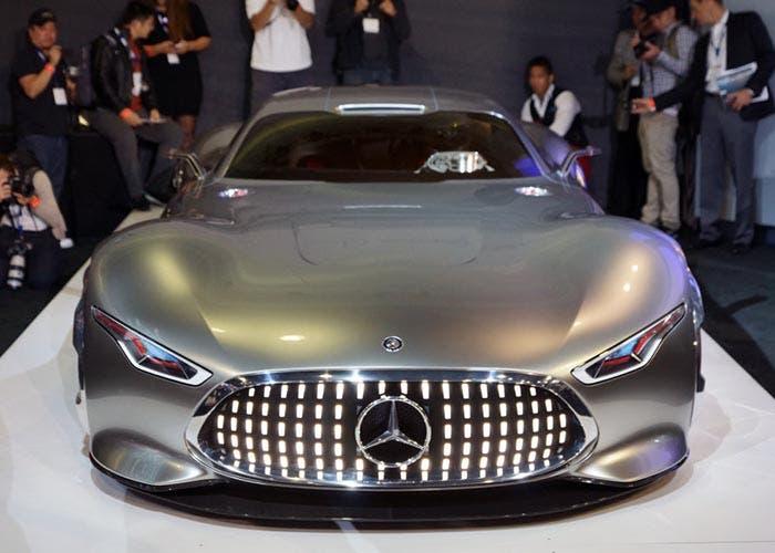 Frontal del Mercedes Vision AMG Gran Turismo