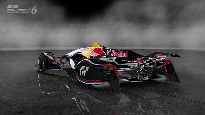 Trasera del Red Bull X2014